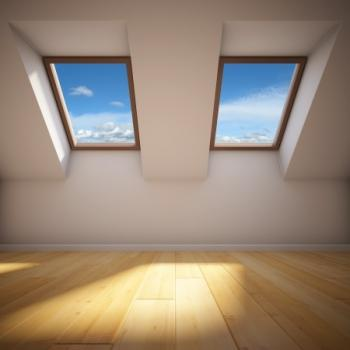 our team can add skylights to your new roof